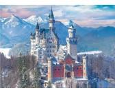 Puzzle Neuschwanstein w zimie