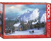 Puzzle Święta Bożego Narodzenia w górach