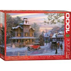 Puzzle Świąteczna droga do domu