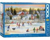 Puzzle Wieczorna jazda na łyżwach