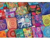 Puzzle Indyjskie poduszki