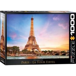 Puzzle Paryż - Wieża Eiffla