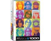 Puzzle John Lennon - barwne portrety