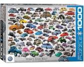 Puzzle Volkswagen - kolaż