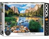 Puzzle Park Narodowy Yosemite, USA
