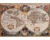 Puzzle Starożytna mapa świata