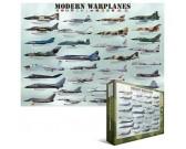 Puzzle Nowoczesne myśliwce