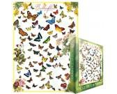 Puzzle Motyle