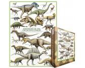 Puzzle Dinozaury - okres kredowy