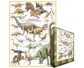 Puzzle Dinozaury - okres jurajski
