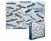 Puzzle Okręty wojenne