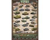 Puzzle Historia czołgów