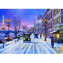Puzzle Boże Narodzenie w Paryżu