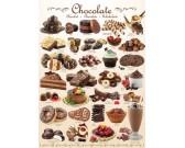 Puzzle Czekoladowe słodkości