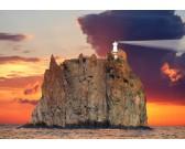 Puzzle Latarnia morska na wyspie Stromboli