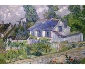 Puzzle Dom z niebieskim dachem