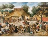 Puzzle Wesele na wsi