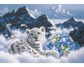 Puzzle Łóżko w chmurach