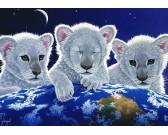 Puzzle Trzy lwiątka