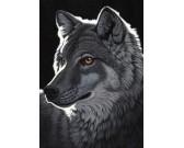 Puzzle Wilk w nocy