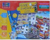 Puzzle Strażacy podczas akcji