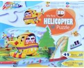 Puzzle Mój pierwszy helikopter - PUZZLE DLA DZIECI