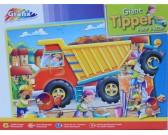 Puzzle Ciężarówka - PUZZLE DLA DZIECI