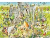 Puzzle Zabawne ZOO – Park Jurajski