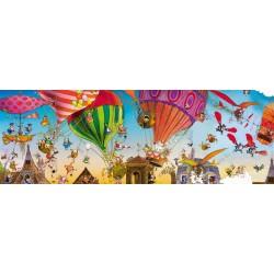 Puzzle Balony - PUZZLE PANORAMICZNE