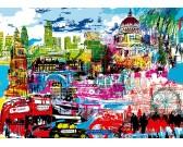 Puzzle Kocham Londyn