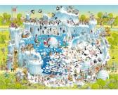 Puzzle Zabawne Zoo - ekspozycja o Kręgu Polarnym