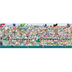 Puzzle Fani sportu - PUZZLE PANORAMICZNE