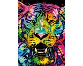 Puzzle Dziki tygrys