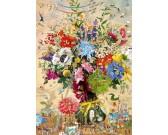 Puzzle Życie kwiatów - TRIANGULAR PUZZLE