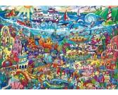 Puzzle Zaczarowane jezioro