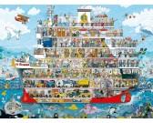 Puzzle Rejs statkiem