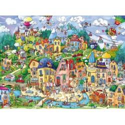 Puzzle Szczęśliwe miasto