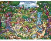 Puzzle Niesamowite drzewa