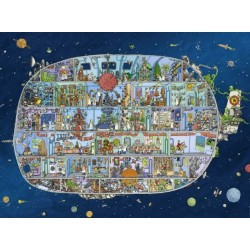 Puzzle Statek kosmiczny