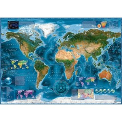 Puzzle Mapa satelitarna