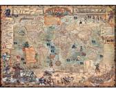 Puzzle Mapa piratów