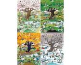Puzzle Cztery pory roku