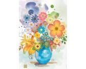 Puzzle Niebieska waza