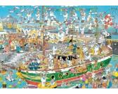 Puzzle Popłoch na łodzi