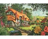 Puzzle Dom na wsi