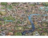 Puzzle Mapa Londynu