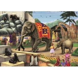 Puzzle Dzień w zoo