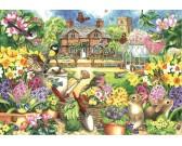 Puzzle Wiosenny ogród