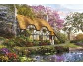 Puzzle Domek w ogrodzie