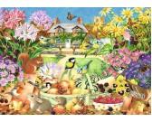 Puzzle Ogród jesienny